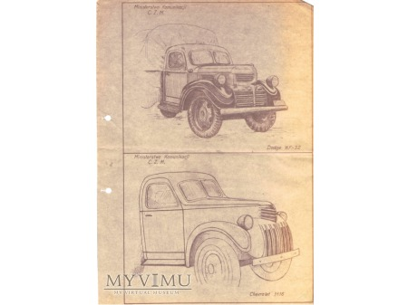 Stare ciężarówki.