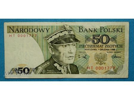 50 złotych 1988
