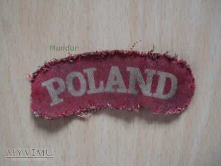 Naszywka POLAND PSZ/Z