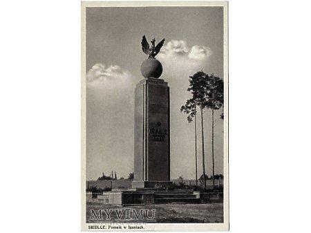 SIEDLCE.Pomnik w Iganiach.
