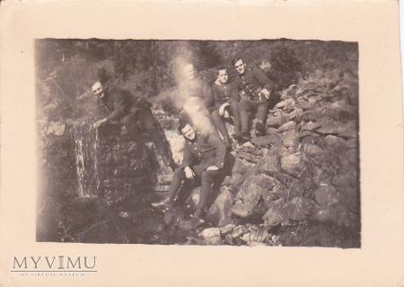 Fotografia żołnierzy 56 Pułku Piechoty Wlkp.
