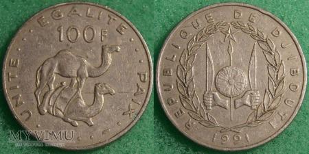 Dżibuti, 100 Francs 1991