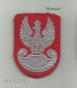 Orzełek wz.93 Żandarmerii Wojskowej (haft maszyn.)