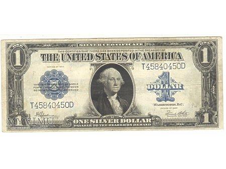1 dolar USA 1923