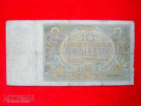10 złotych 1926 rok