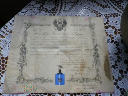 Herb Jastrzębiec-dokument Heroldyi Królestwa Polsk