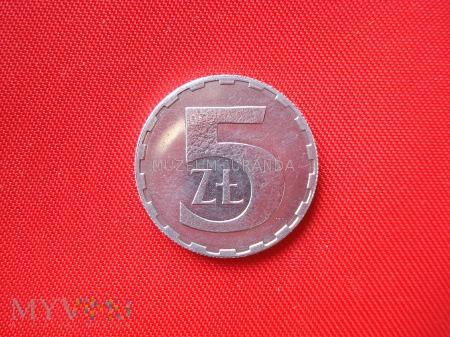 5 złotych 1989 rok