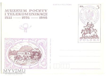 MUZEUM POCZTY I TELEKOMUNIKACJI 1921-1956-1986