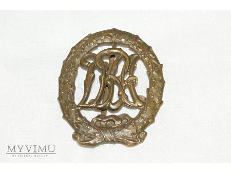 Brązowa odznaka DRA