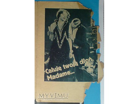 Marlene Dietrich Całuję Twoją Dłoń Madame