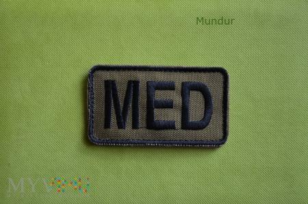 Naszywka MED na apteczkę polową