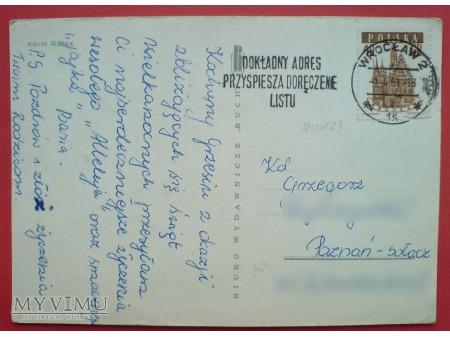 1961 WESOŁYCH ŚWIĄT Adam Kilian Śmigus Dyngus