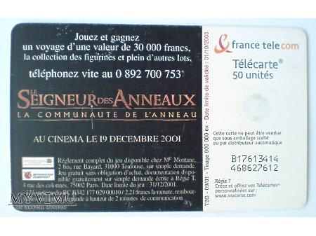 Władca Pierścieni : FRODO 2001 France Telecom