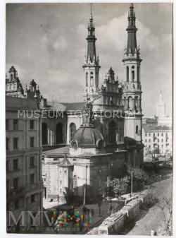 W-wa - Kościół Zbawiciela - 1960 ok.