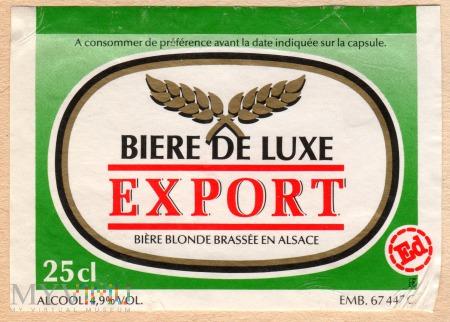 BIERE DE LUXE EXPORT
