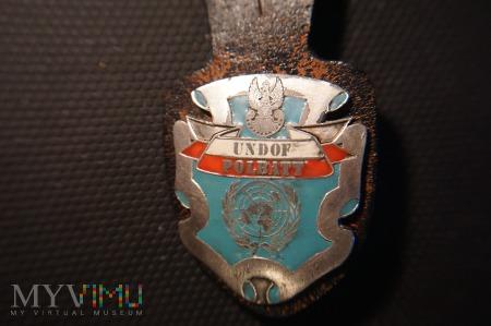 Odznaka Polskiego Batalionu w Syrii -UNDOF POLBATT