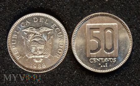 Ekwador, 50 CENTAVOS 1988