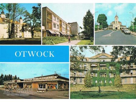 Duże zdjęcie Otwock na pocztówce