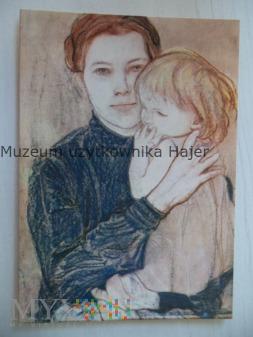 Wyspiański Stanisław Kobieta z dzieckiem 1901 r.