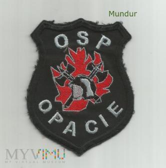 Emblemat OSP OPACIE