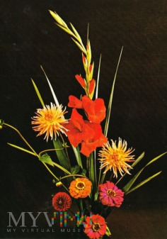 Duże zdjęcie Bukiet kwiatów