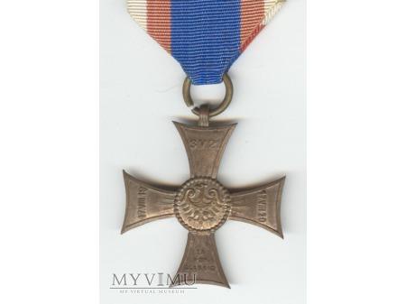 Duże zdjęcie Krzyż na Śląskiej Wstędze Waleczności i Zasługi