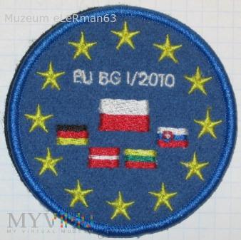 Grupa Bojowa Unii Europejskiej - I zmiana z 2010 r