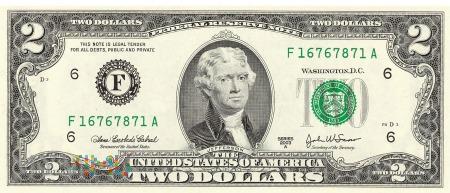 Stany Zjednoczone - 2 dolary (2003)