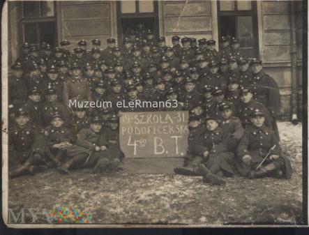 4 Batalion Telegraficzny. Przemyśl 1931r.