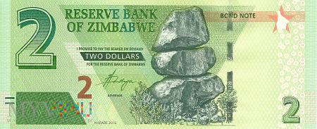 Zimbabwe - 2 dolary (2016)