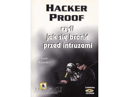 HACKER PROOF + CD-Room