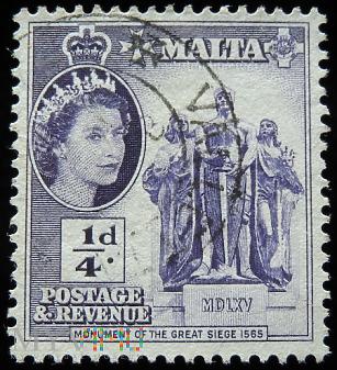 Malta ¼ d Elżbieta II