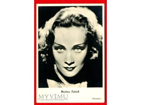 Marlene Dietrich Marlena Aktorka