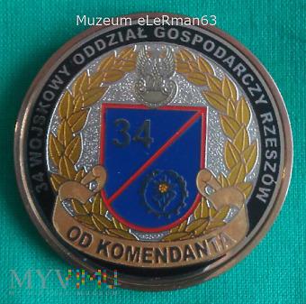 Coin 34 Wojskowy Oddział Gospodarczy Rzeszó
