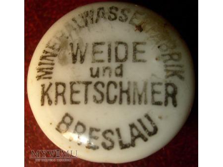 Weide und Kretschmer Breslau MineralwasserFabrik
