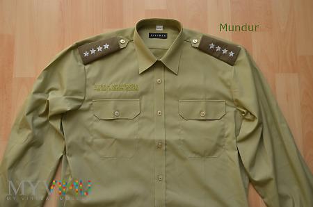 Koszula służbowa SG z haftowanym napisem SG