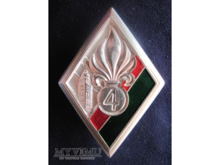 4e régiment étranger.