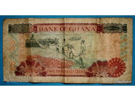 20O0 CEDI 1999 GHANA