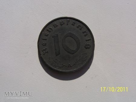 10 REICHSPFENNIG 1940 - MENNICA A - Berlin