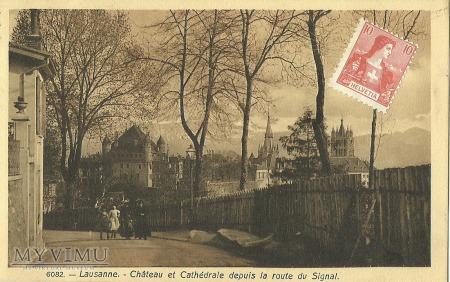 Szwajcaria - Lausanne - 1908 r.