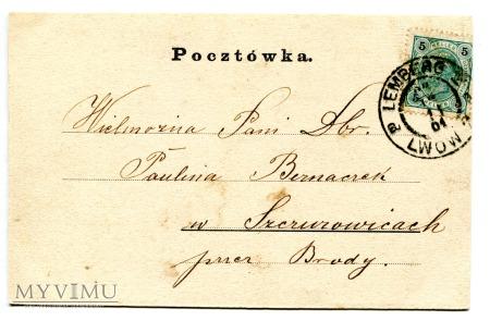 1901 Dosiego Roku Lemberg Lwów Tadeusz Rybkowski