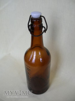 Butelka szklana - kabłąkowa (Karpiński - Polska)