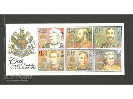 Monarchowie brytyjscy w XX wieku.