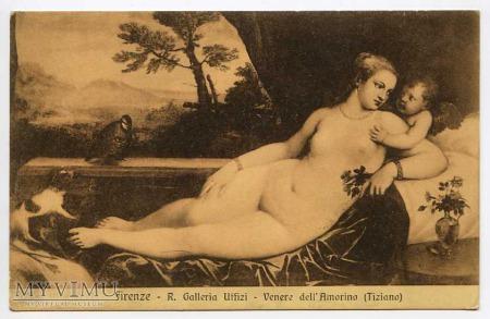 V. Tycjan - Venus z Amorem