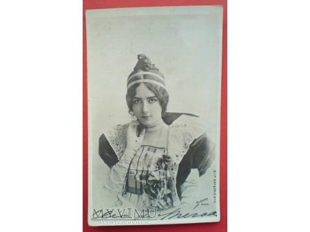 Cléo de Mérode piękna Ballerina Belle époque