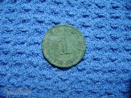 1 pfennig 1874