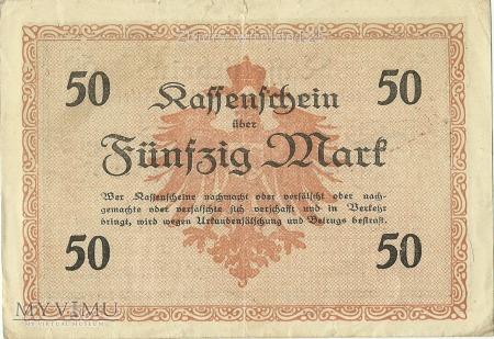 Olsztyn 50 marek 1918 r.