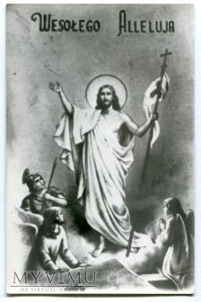 Wielkanoc WESOŁYCH ŚWIĄT Jezus Chrystus anioły