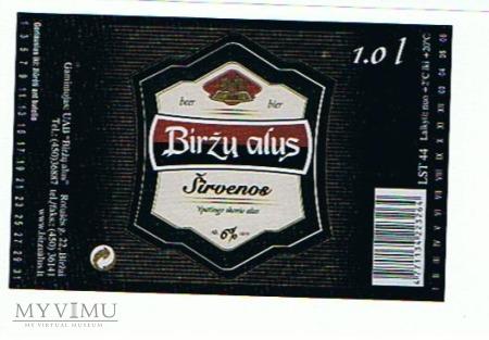 birżu alus sirvenoe