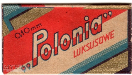 Żyletka Polonia Luksusowe - Polska